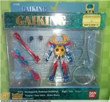 GAIKING SUPER ROBOT IN ACTION BANDAI 1999 MINT IN SEALED BOX !